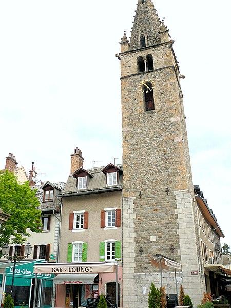 Photo du Monument Historique Tour de l'horloge dite Tour Cardinalis situé à Barcelonnette