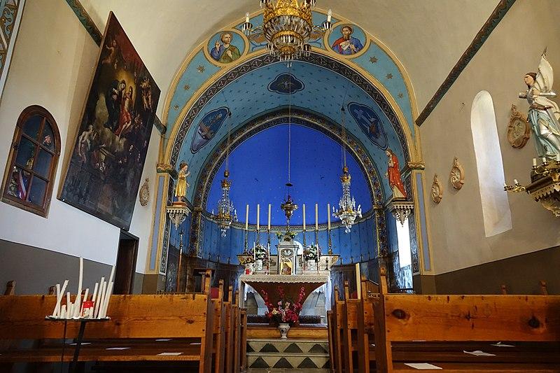 Photo du Monument Historique Eglise Saint-Pierre-et-Saint-Paul ou Sainte-Marie-Magdeleine situé à Castellet-lès-Sausses