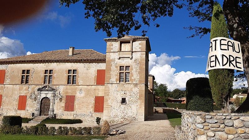 Photo du Monument Historique Château du Chaffaut situé à Le Chaffaut-Saint-Jurson