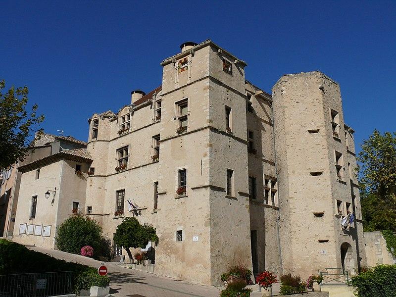Photo du Monument Historique Château situé à Château-Arnoux-Saint-Auban