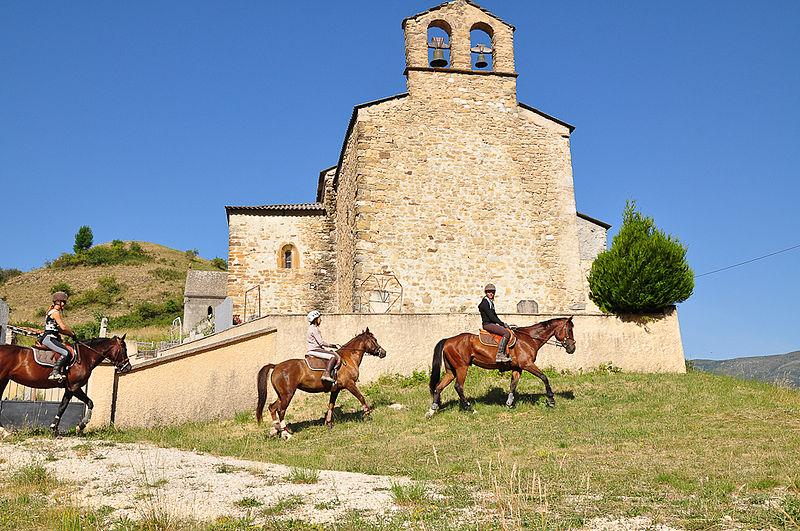 Photo du Monument Historique Eglise Notre-Dame situé à Clumanc