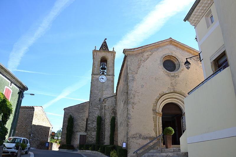 Photo du Monument Historique Eglise situé à Cruis