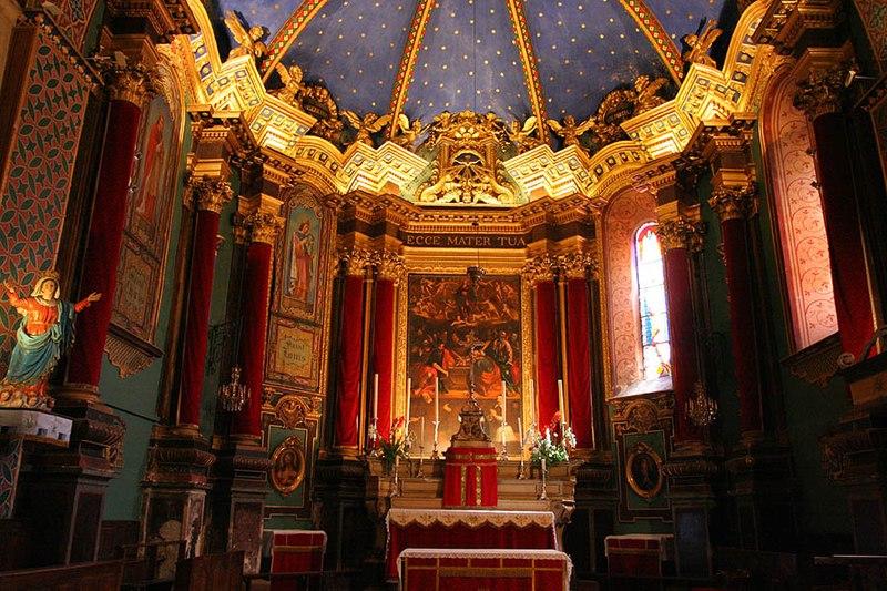 Photo du Monument Historique Ancienne cathédrale Notre-Dame de l'Assomption, actuellement église paroissiale situé à Entrevaux