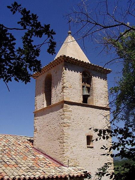 Photo du Monument Historique Eglise Saint-Martin situé à Entrevennes