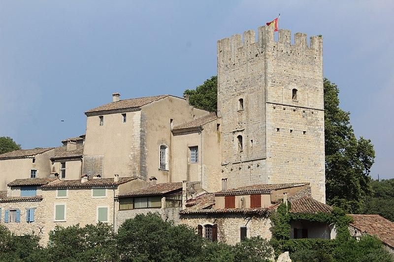 Photo du Monument Historique Château d'Esparron situé à Esparron-de-Verdon