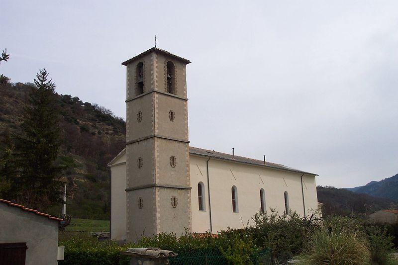 Photo du Monument Historique Eglise situé à Estoublon