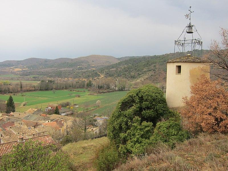 Photo du Monument Historique Horloge publique (vieille) situé à Estoublon