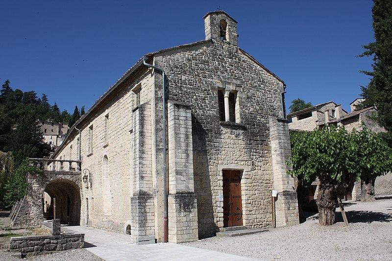 Photo du Monument Historique Couvent des Cordeliers (restes de l'ancien) situé à Forcalquier