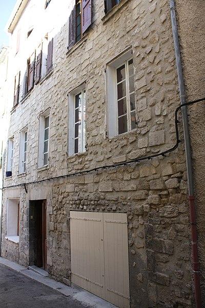 Photo du Monument Historique Maison Jean Rey situé à Forcalquier
