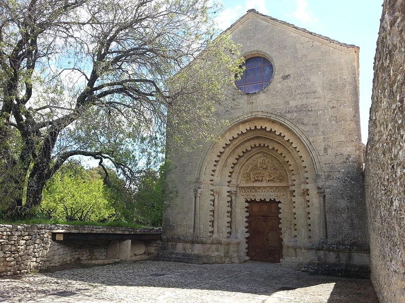 Photo du Monument Historique Prieuré situé à Ganagobie