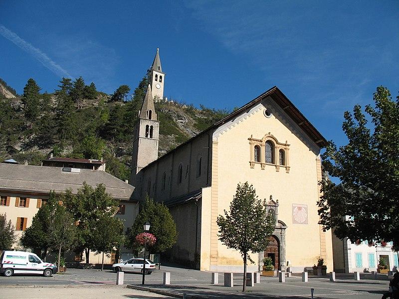 Photo du Monument Historique Eglise Saint-Nicolas-de-Myre situé à Jausiers