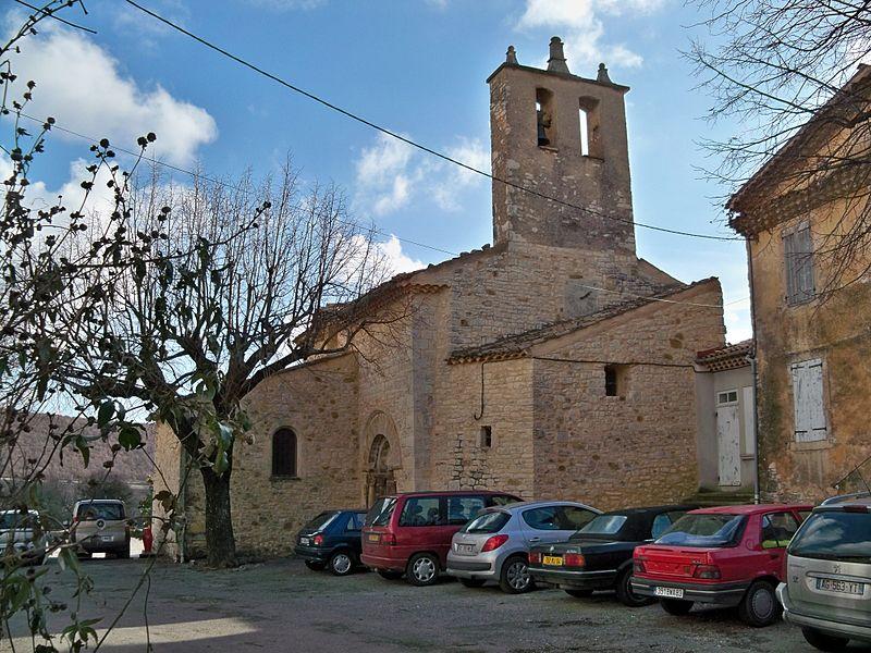 Photo du Monument Historique Ancienne Commanderie des Hospitaliers (avec l'église) situé à Lardiers