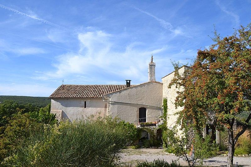 Photo du Monument Historique Prieuré de Châteauneuf situé à Mane