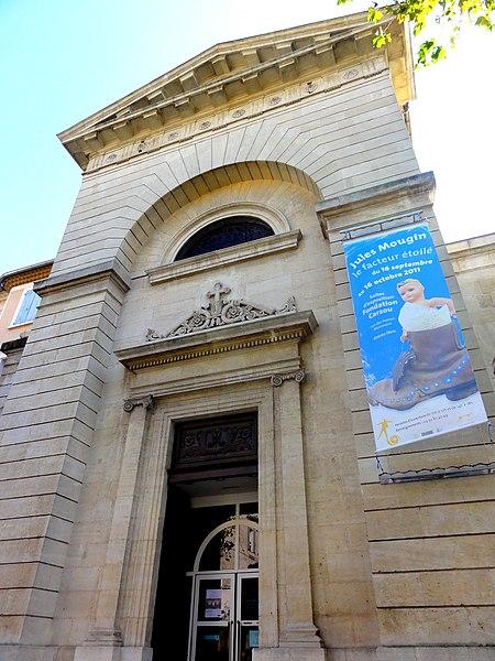 Photo du Monument Historique Couvent de la Présentation situé à Manosque