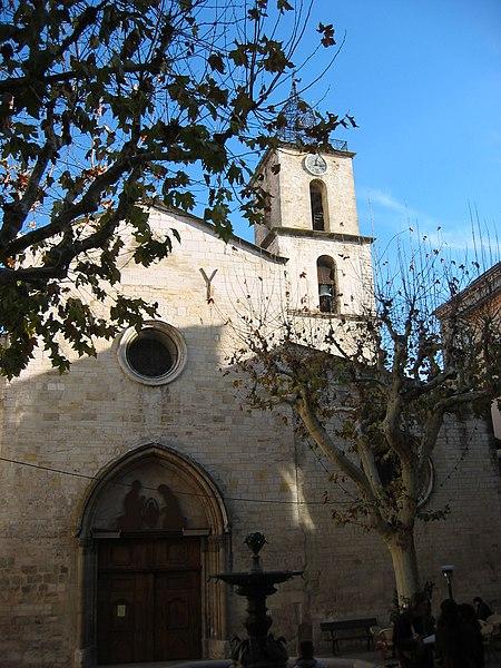 Photo du Monument Historique Eglise Saint-Sauveur situé à Manosque