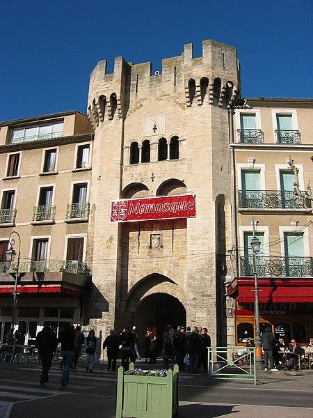 Photo du Monument Historique Porte de la Saunerie situé à Manosque
