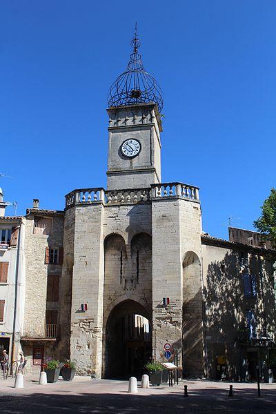 Photo du Monument Historique Porte Soubeyran situé à Manosque