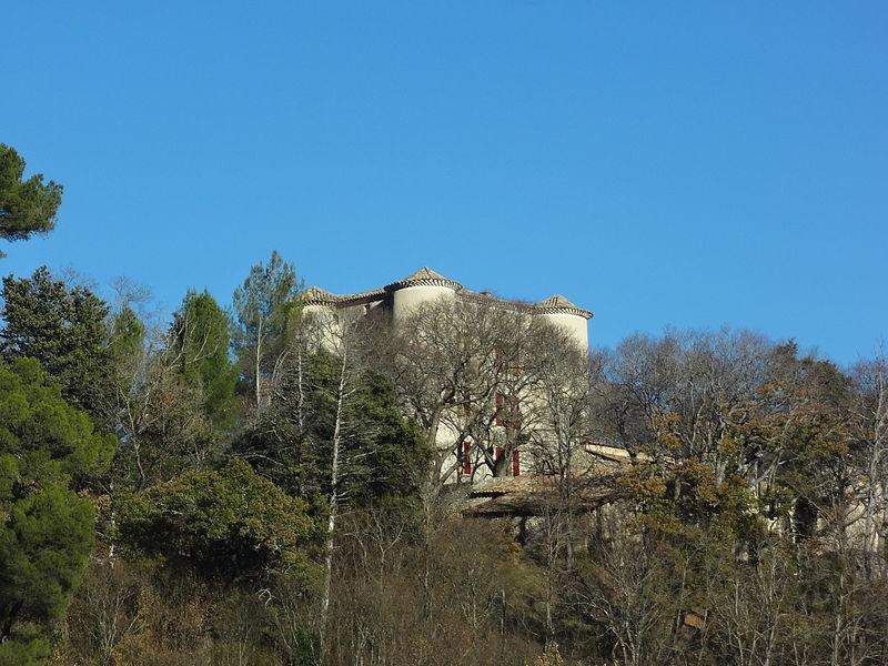 Photo du Monument Historique Château de Fontenelle situé à Mirabeau