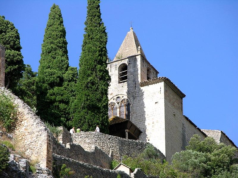 Photo du Monument Historique Chapelle Notre-Dame de Beauvoir situé à Moustiers-Sainte-Marie