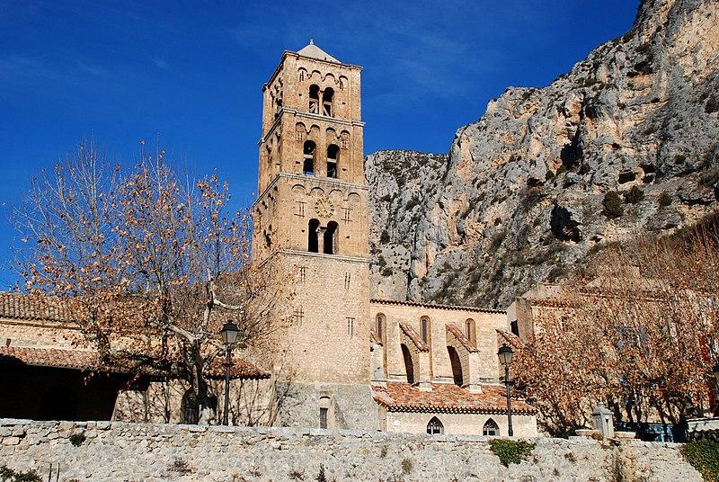 Photo du Monument Historique Eglise situé à Moustiers-Sainte-Marie