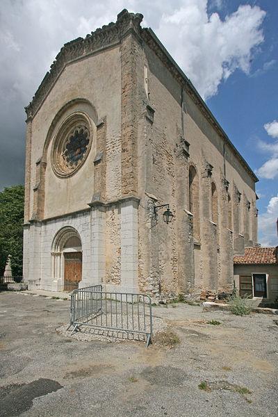 Photo du Monument Historique Eglise situé à La Palud-sur-Verdon