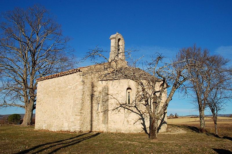 Photo du Monument Historique Chapelle Saint-Pierre (ruines) situé à Pierrerue
