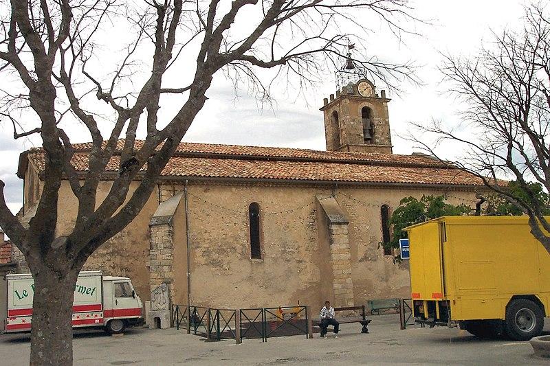 Photo du Monument Historique Eglise situé à Puimoisson