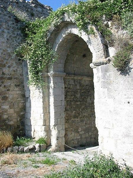 Photo du Monument Historique Porte Saint-Pierre situé à Reillanne