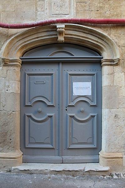 Photo du Monument Historique Hôtel de Mazan situé à Riez