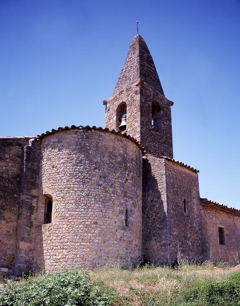 Photo du Monument Historique Eglise situé à Saint-Martin-de-Brômes