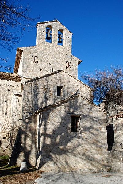 Photo du Monument Historique Eglise situé à Saint-Martin-les-Eaux