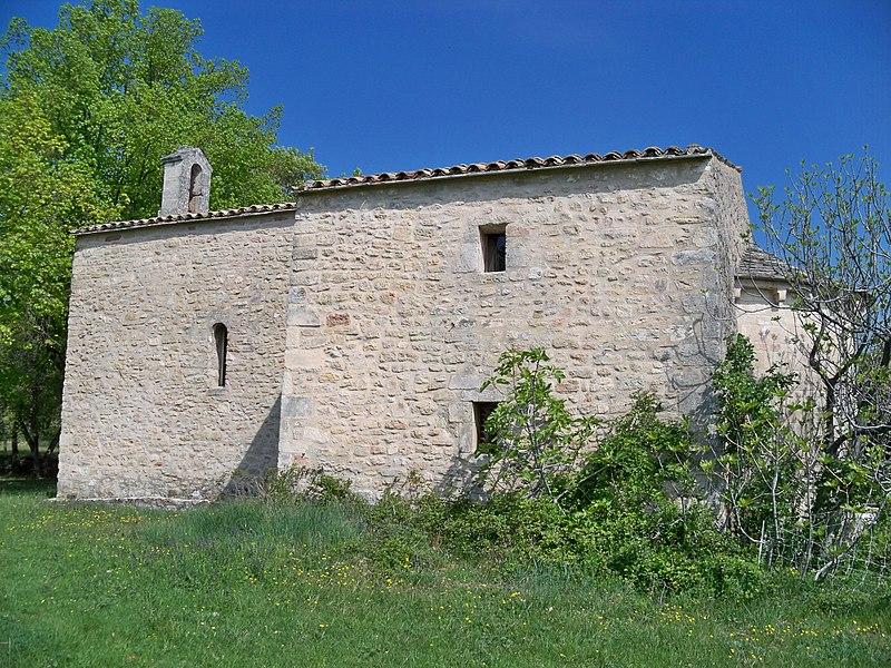 Photo du Monument Historique Chapelle Saint-Jean situé à Saint-Michel-l'Observatoire