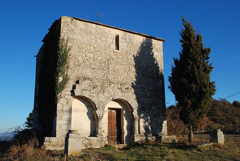 Photo du Monument Historique Chapelle Saint-Paul, dite aussi Eglise Haute ou église Saint-Michel situé à Saint-Michel-l'Observatoire