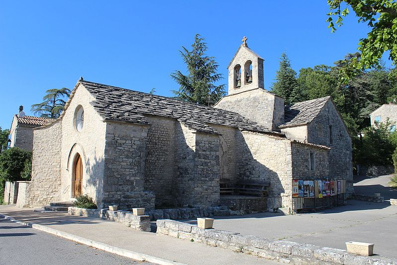 Photo du Monument Historique Eglise Sainte-Marie-Madeleine de Lincel situé à Saint-Michel-l'Observatoire