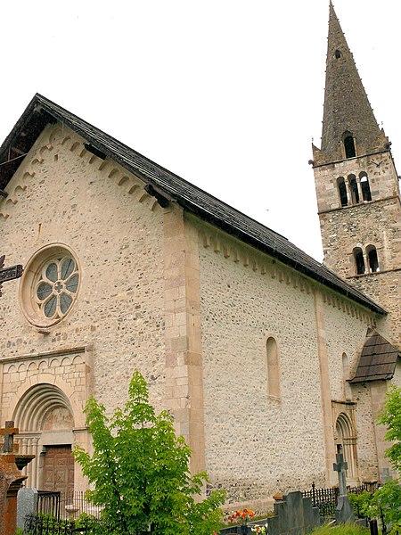 Photo du Monument Historique Eglise situé à Saint-Paul