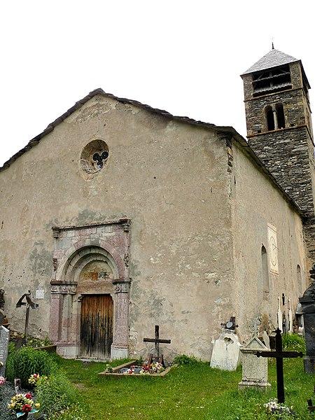 Photo du Monument Historique Eglise de Maurin situé à Saint-Paul