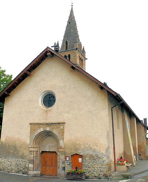 Photo du Monument Historique Eglise situé à Saint-Pons