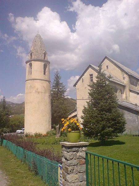 Photo du Monument Historique Tour Lesdiguières situé à Selonnet