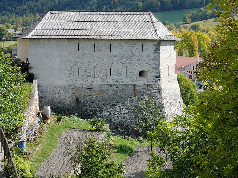 Photo du Monument Historique Bastion des Pénitents ou Tour des Pénitents ou Bastion Niquet situé à Seyne