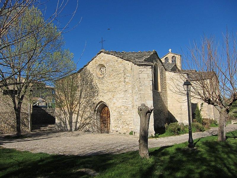 Photo du Monument Historique Eglise paroissiale Saint-Claude situé à Sigonce