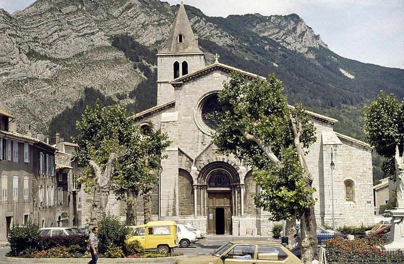 Photo du Monument Historique Ancienne cathédrale Notre-Dame situé à Sisteron