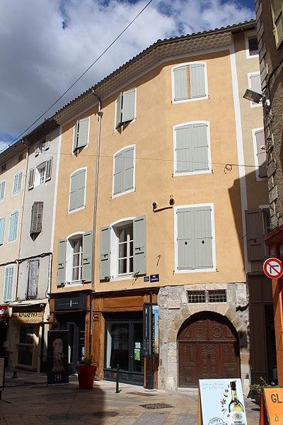 Photo du Monument Historique Maison situé à Sisteron