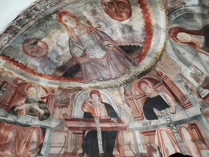 Photo du Monument Historique Chapelle Saint-Thomas, au hameau de Château-Garnier situé à Thorame-Basse