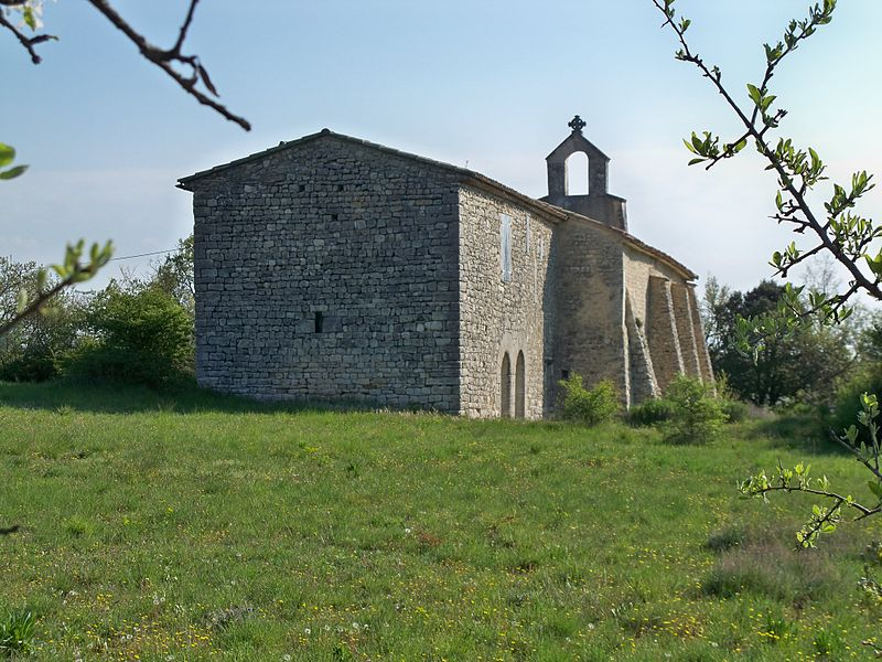 Photo du Monument Historique Prieuré Notre-Dame-du-Largue situé à Villemus