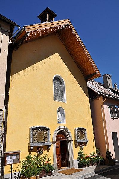 Photo du Monument Historique Chapelle Saint-Sébastien dite aussi chapelle des Pénitents situé à Allos