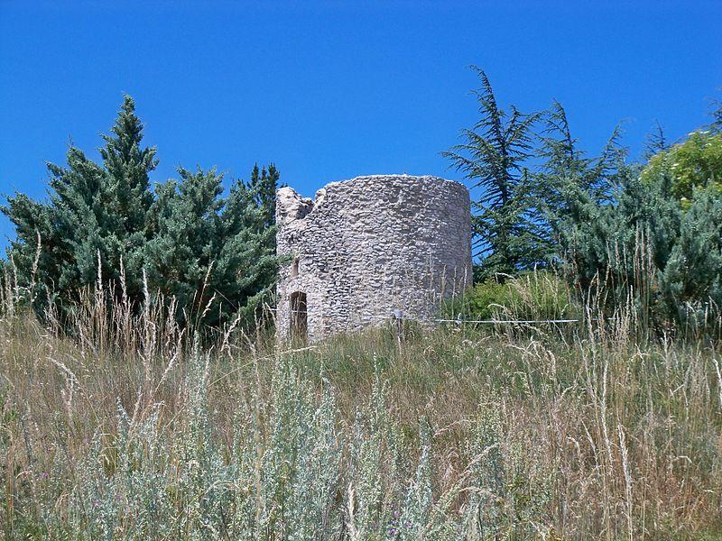 Photo du Monument Historique Ferme, dite Le Moulin de Giono, située au Contadour situé à Redortiers