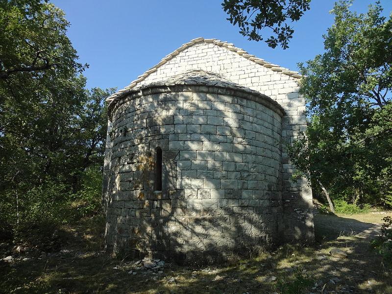 Photo du Monument Historique Chapelle Sainte-Madeleine situé à Châteauneuf-Val-Saint-Donat
