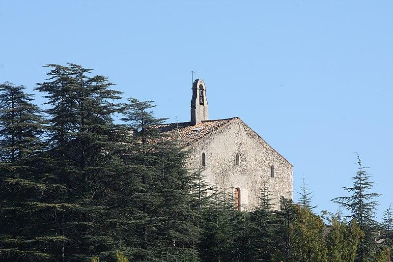 Photo du Monument Historique Prieuré et chapelle Saint-Pancrace situé à Forcalquier