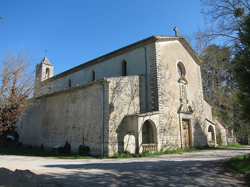 Photo du Monument Historique Chapelle Notre-Dame des Anges situé à Lurs