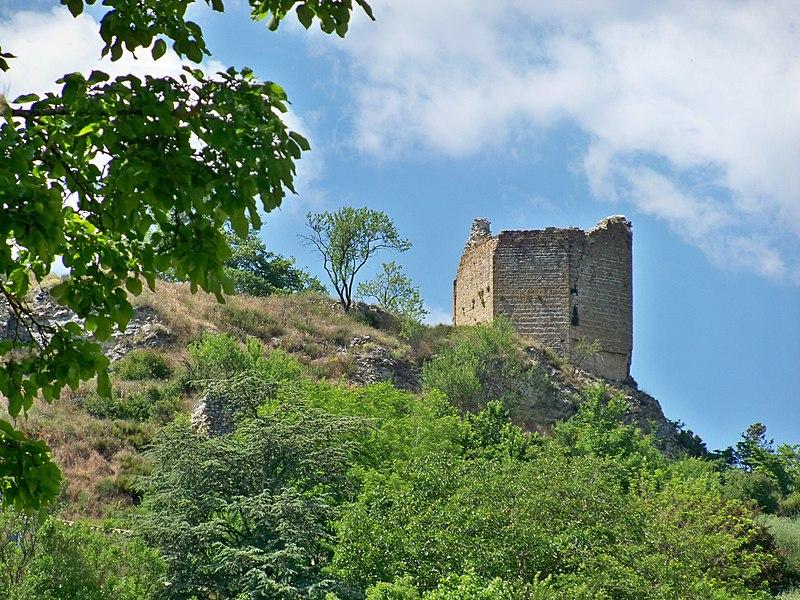 Photo du Monument Historique Château situé à Saint-Maime